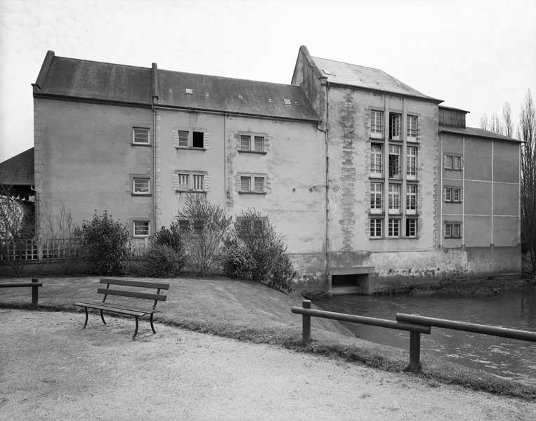 moulin à farine dit Moulin d'Orion, actuellement minoterie Dubois Rioux