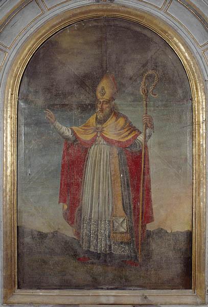 tableau d'autel (retable du maitre autel) : Saint Martin de Tours