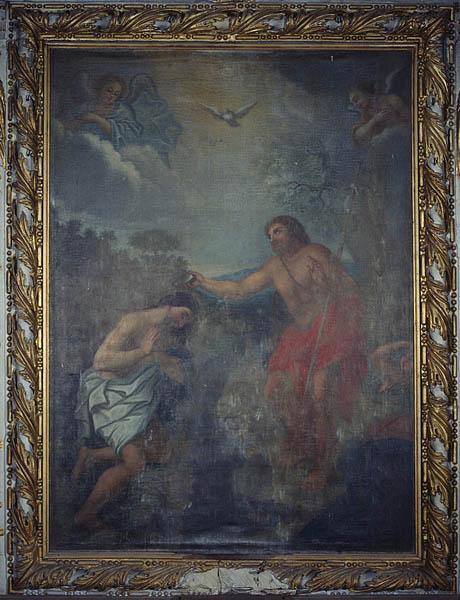 Tableau (tableau d'autel) : Baptême du Christ