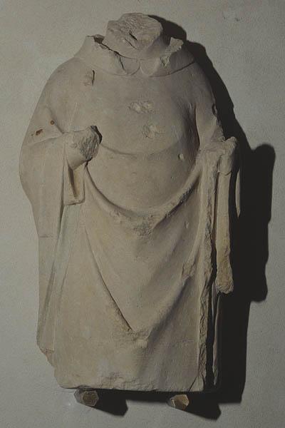 Statue (torse) : évêque