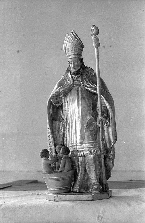 Bâton de procession : saint Nicolas