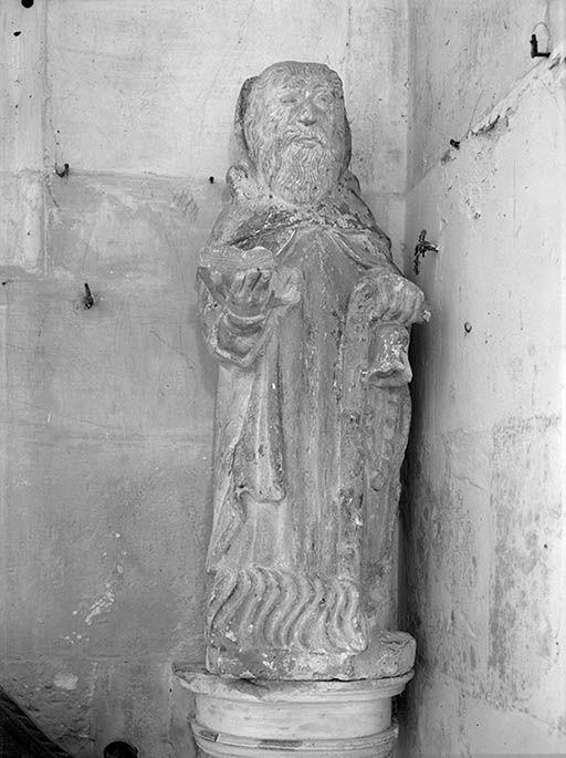Statue (demi-nature) : saint Antoine