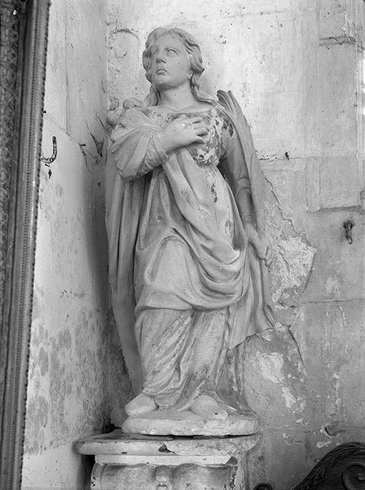 Statue (petite nature) : martyre