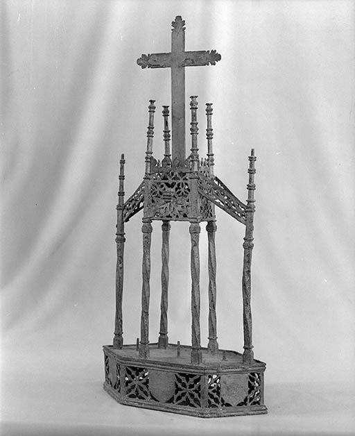 Bâton de procession, style gothique