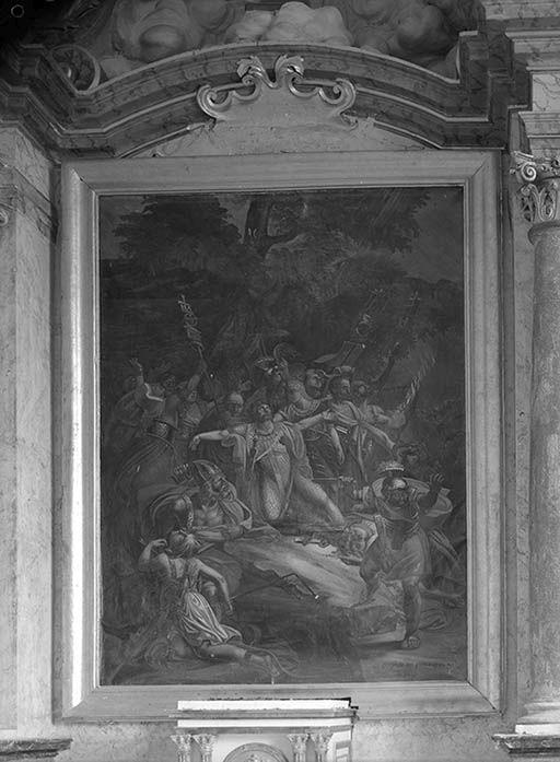 Tableau : Le Martyre de saint Maurice et de la légion thébéenne