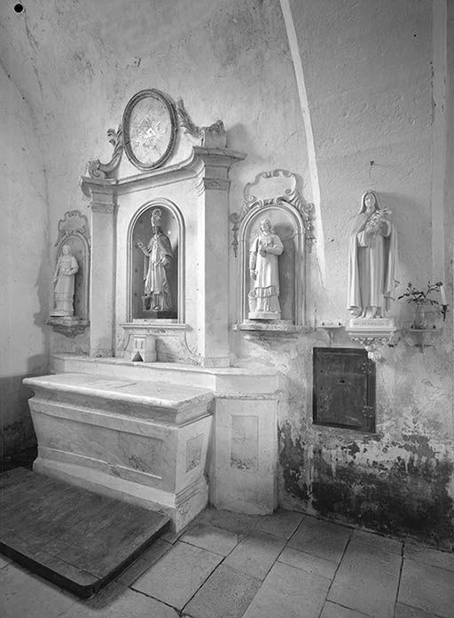 Le mobilier de l'église paroissiale Saint-Maurice