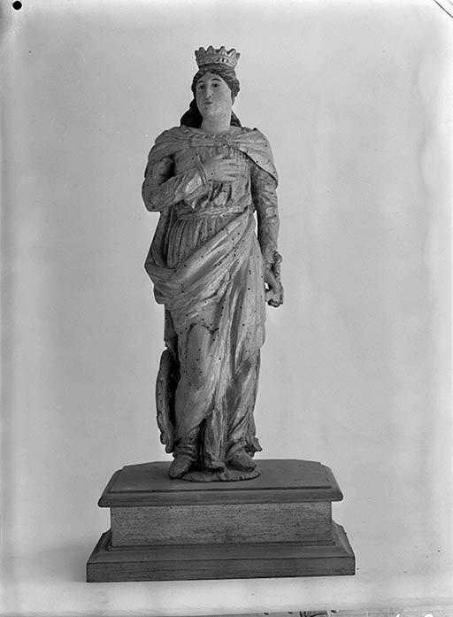 statuettes (2), groupe sculpté