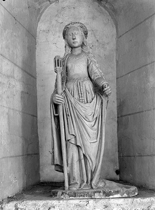Statue : Sainte Brigitte de Suède (n° 2)