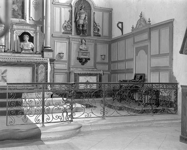 Clôture de choeur (grille de communion)