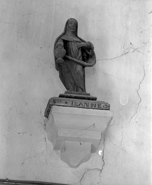 statuette : sainte Jeanne