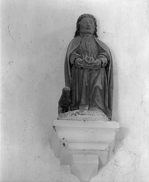 Statuette : Saint Mammès