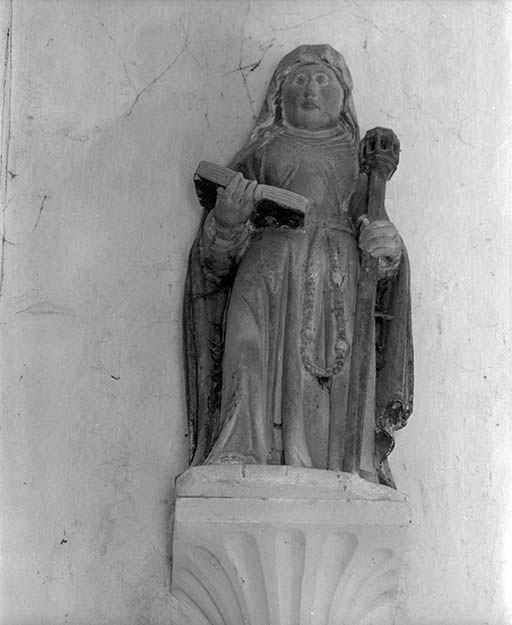 Statuette : Sainte Brigitte de Suède (?)