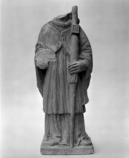 Statuette : Saint Loup de Sens