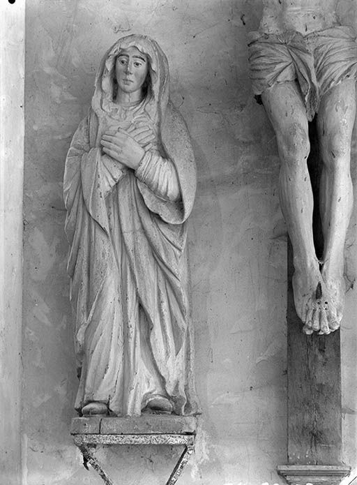 Groupe sculpté : Le Calvaire