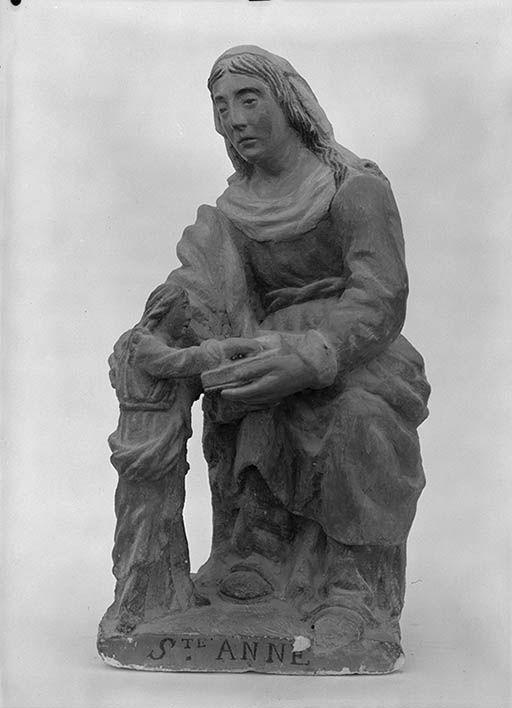 Groupe sculpté : L'Education de la Vierge (n° 1)