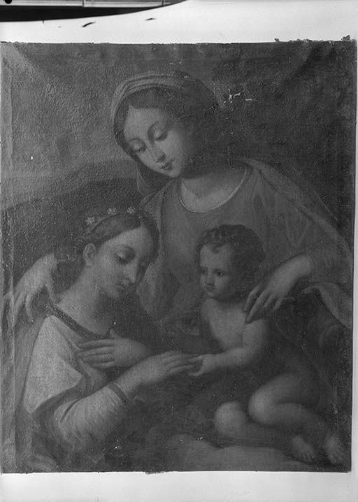 Tableau : Mariage mystique de sainte Catherine de Sienne