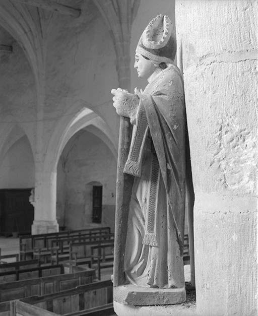 Statue : Saint Loup de Sens dit saint Leu