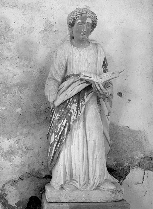 statue : sainte Luce (?)