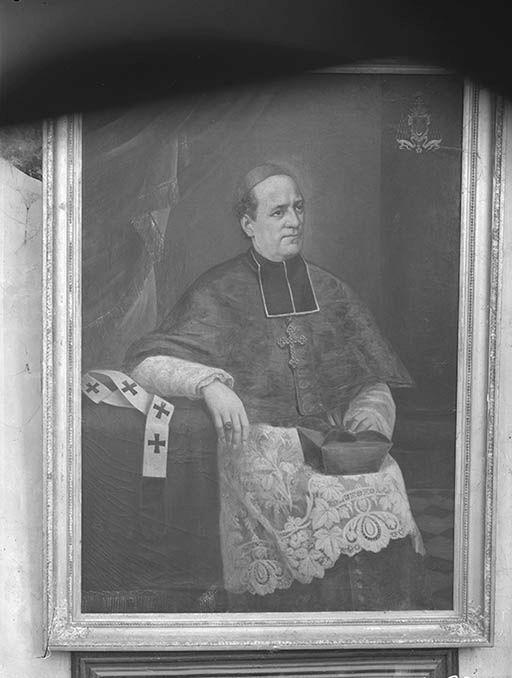 tableau : portrait de Monseigneur Pichenot