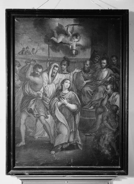 Tableau : la Décollation de saint Symphorien