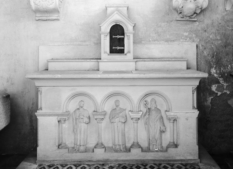 Autel, tabernacle (autel tombeau, tabernacle architecturé) (2)