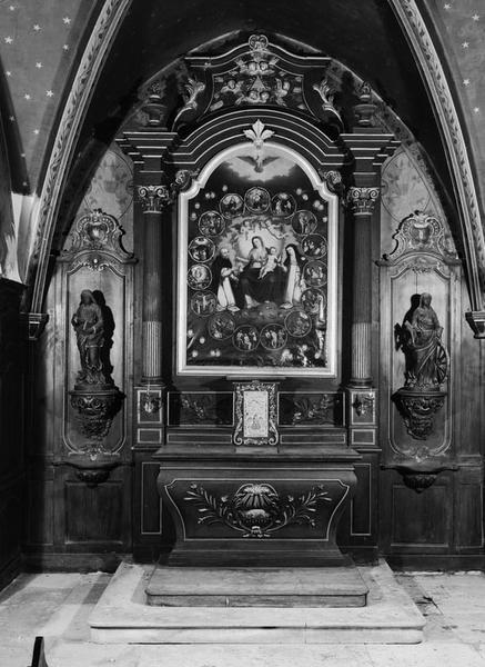 Autel, retable, tabernacle (autel tombeau, retable architecturé) (n° 2)