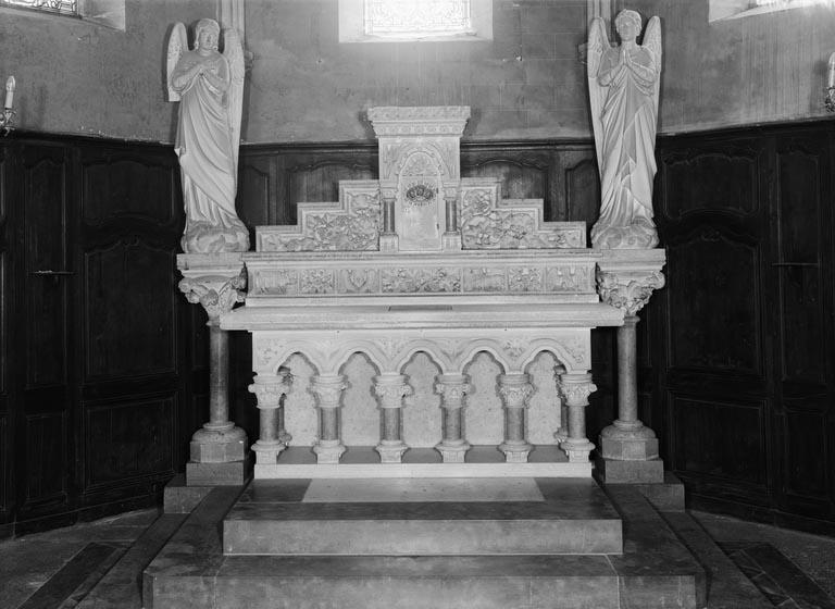 Autel, tabernacle (autel tombeau, tabernacle architecturé)