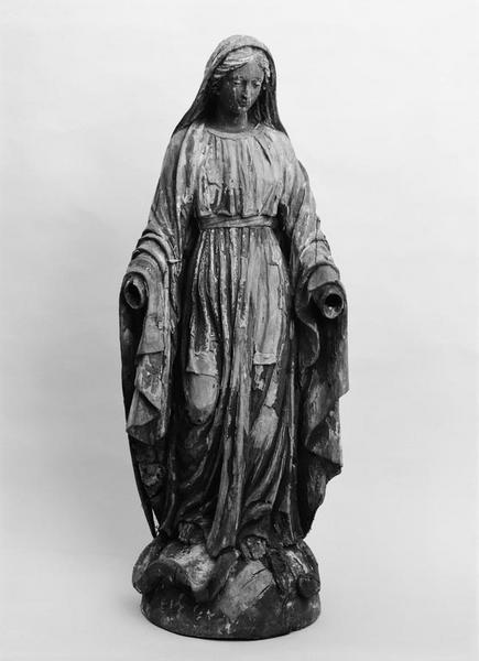 Statue (petite nature) : Immaculée Conception