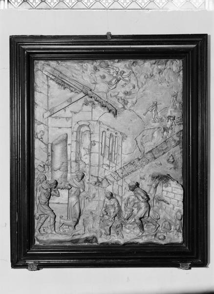 Haut-relief : Adoration des bergers