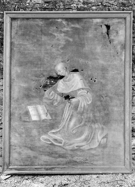 Tableau : saint Bernard de Clairvaux