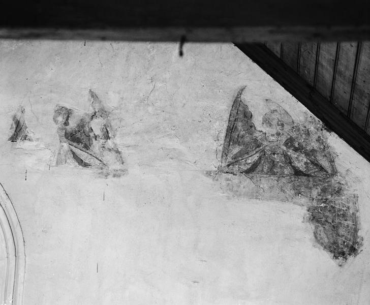 Peinture murale : anges