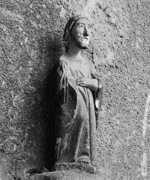 Statuette : saint Pierre ?