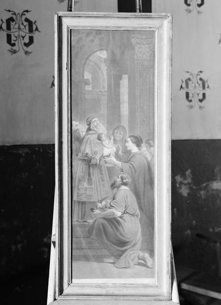 Estampe : Présentation au Temple