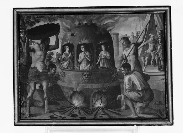 Tableau : Martyre de saint Mammès