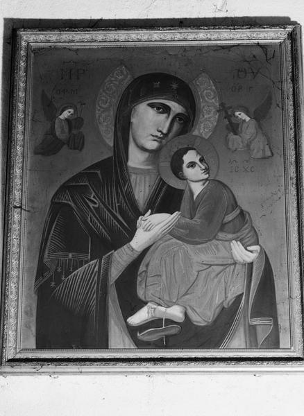 Tableau : Vierge à l'Enfant dite Notre-Dame du perpétuel secours