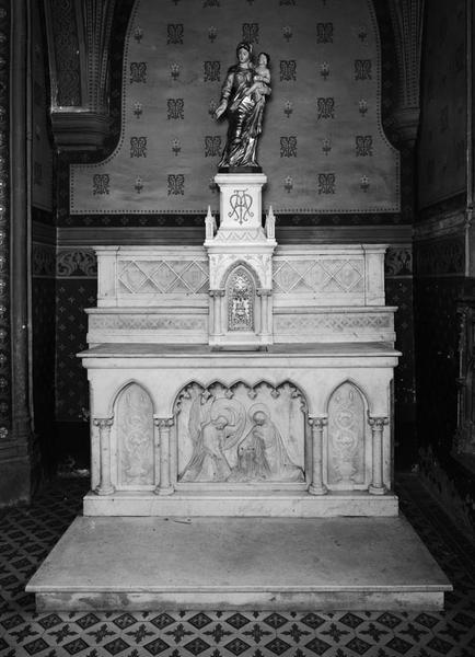 Autel, tabernacle (autel tombeau, autel secondaire) (3)