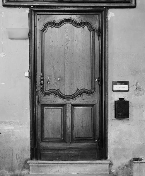 Porte, de sacristie