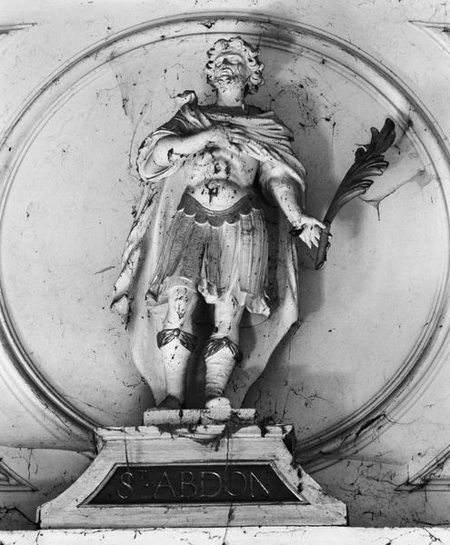 Statue : saint Abdon