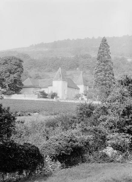 demeure (maison seigneuriale) dite château de la Charrière