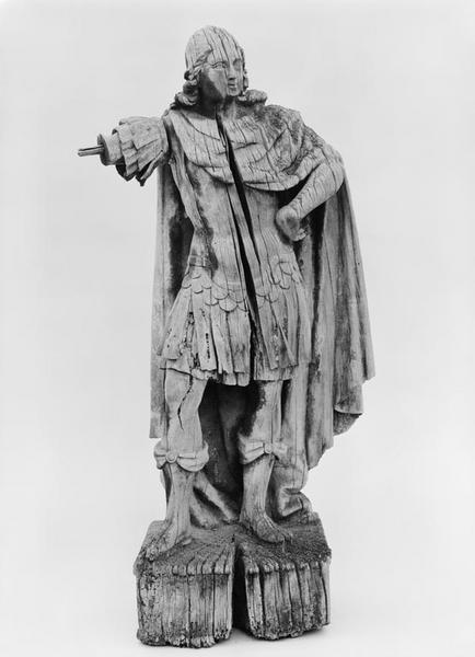 Statuette : saint Georges