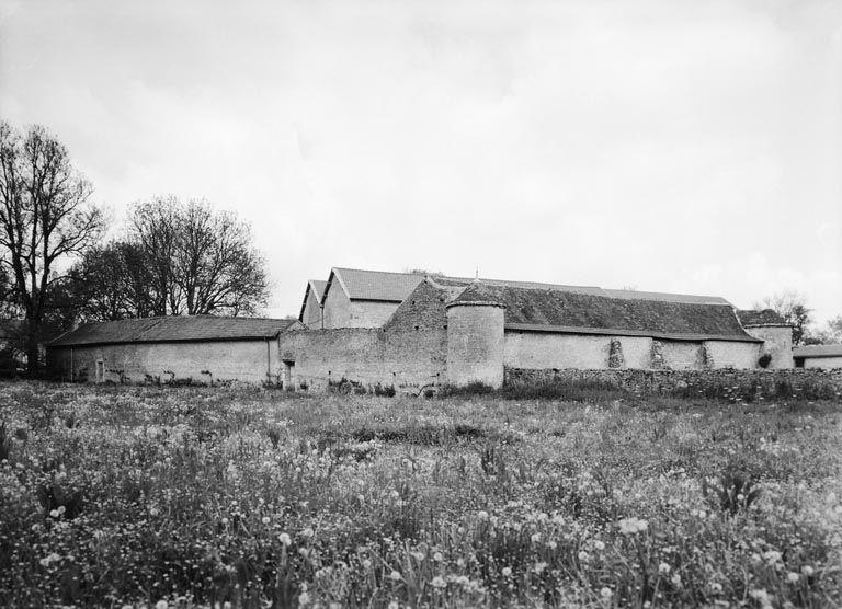 établissement conventuel de cisterciens (grange monastique) dit ferme d' Auvenay