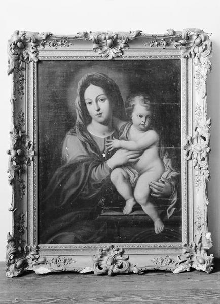 Tableau, cadre : Vierge à l'Enfant