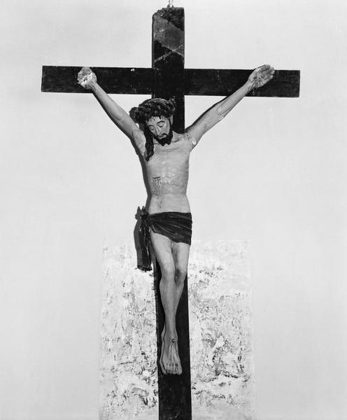 Croix (grandeur nature) : Christ en croix (1)