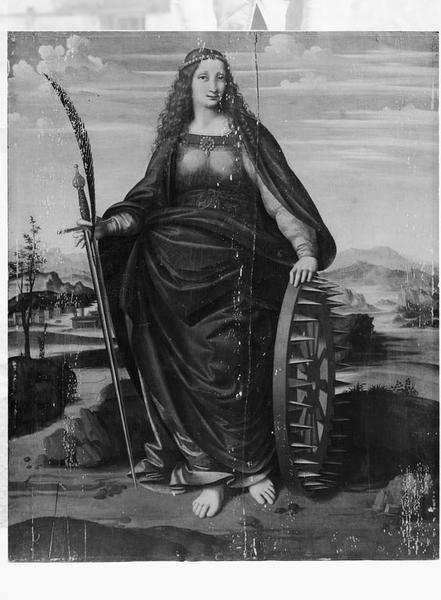 Tableau : sainte Catherine d'Alexandrie