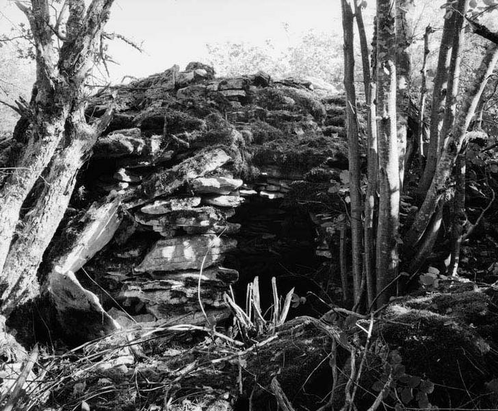 cabane de carrier dite cabane de lavier, la Grosse Magnote