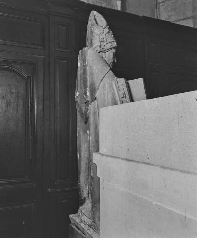 Statues en pendant : saint Blaise et saint Eutrope