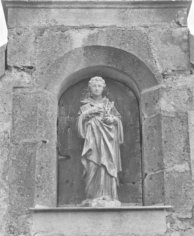 Statue : saint Gervais