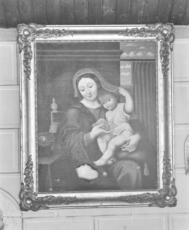 tableau : Vierge à la grappe