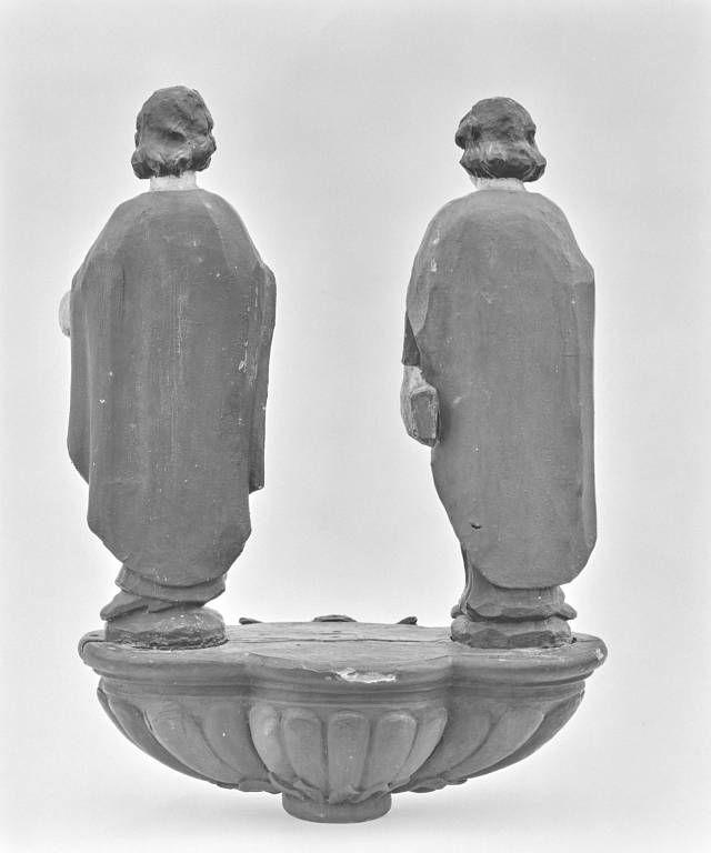 Bâton de procession : saint Gervais et saint Protais