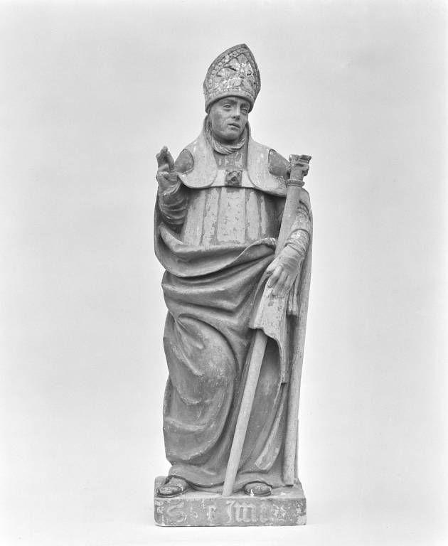 Statue : saint Edme